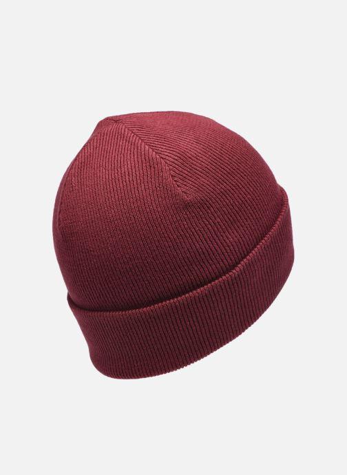 Bonnets G-Star Beannie Rouge vue portées chaussures