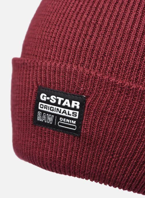 Bonnets G-Star Beannie Rouge vue face