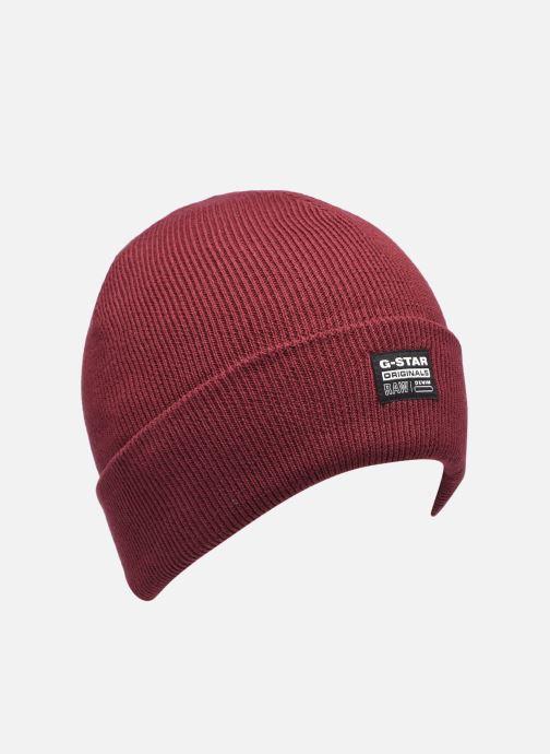 Bonnets G-Star Beannie Rouge vue détail/paire