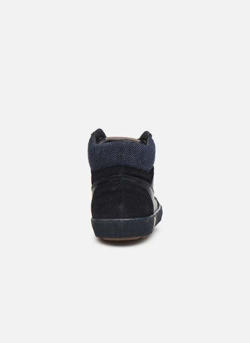 Sneaker Marvin&Co Wivero blau ansicht von rechts