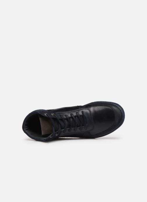 Sneaker Marvin&Co Wivero blau ansicht von links