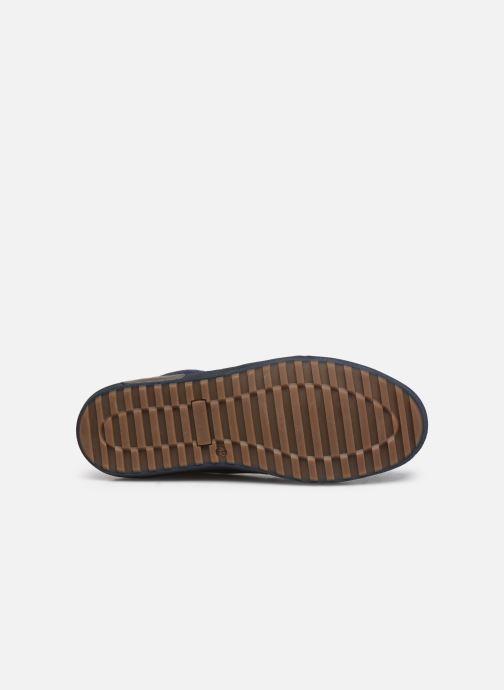 Sneaker Marvin&Co Wivero blau ansicht von oben