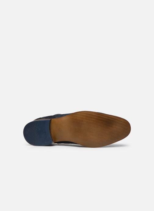 Stiefeletten & Boots Marvin&Co Walkey blau ansicht von oben