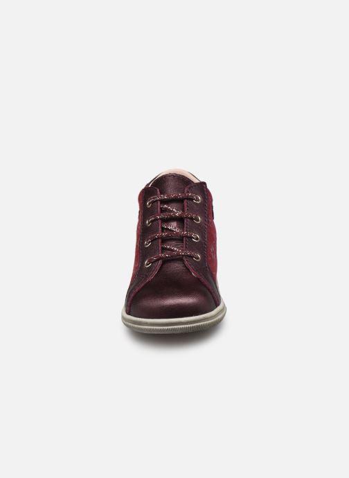 Bottines et boots Bopy Zavena Bordeaux vue portées chaussures