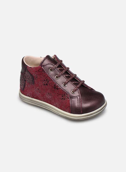 Bottines et boots Bopy Zavena Bordeaux vue détail/paire