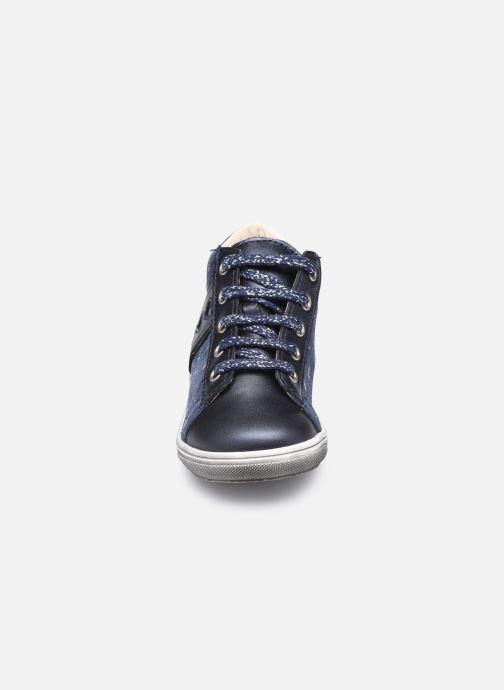 Bottines et boots Bopy Rostana Bleu vue portées chaussures