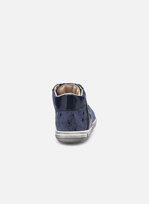 Bottines et boots Bopy Rostana Bleu vue droite