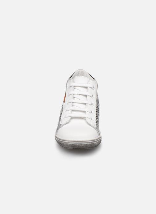 Bottines et boots Bopy Reclair Blanc vue portées chaussures