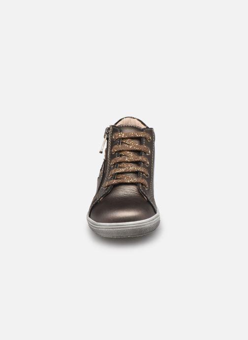Bottines et boots Bopy Rozila Or et bronze vue portées chaussures