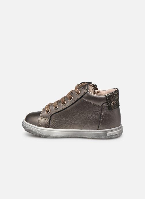 Bottines et boots Bopy Rozila Or et bronze vue face