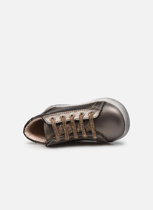 Bottines et boots Bopy Rozila Or et bronze vue gauche