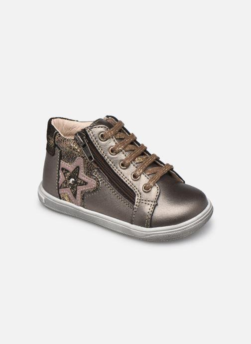 Bottines et boots Bopy Rozila Or et bronze vue détail/paire
