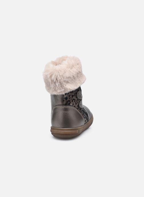 Bottines et boots Bopy Rafrica Or et bronze vue droite