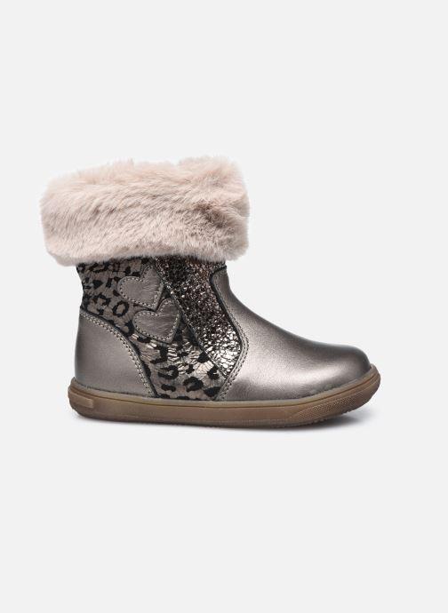 Bottines et boots Bopy Rafrica Or et bronze vue derrière