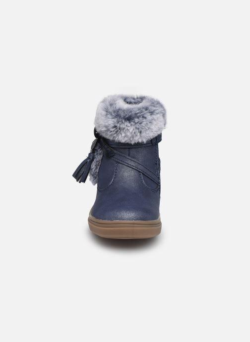 Bottes Bopy Icalin Kouki Bleu vue portées chaussures