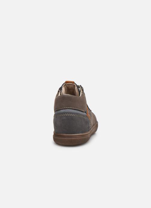 Bottines et boots Bopy Rino Gris vue droite