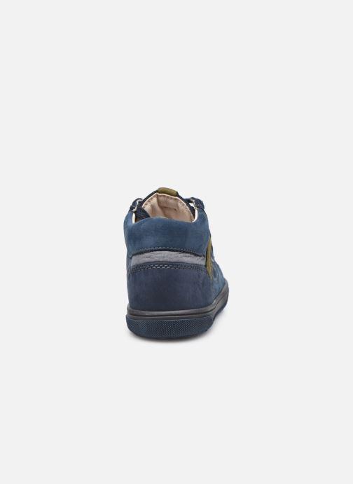 Bottines et boots Bopy Rino Bleu vue droite