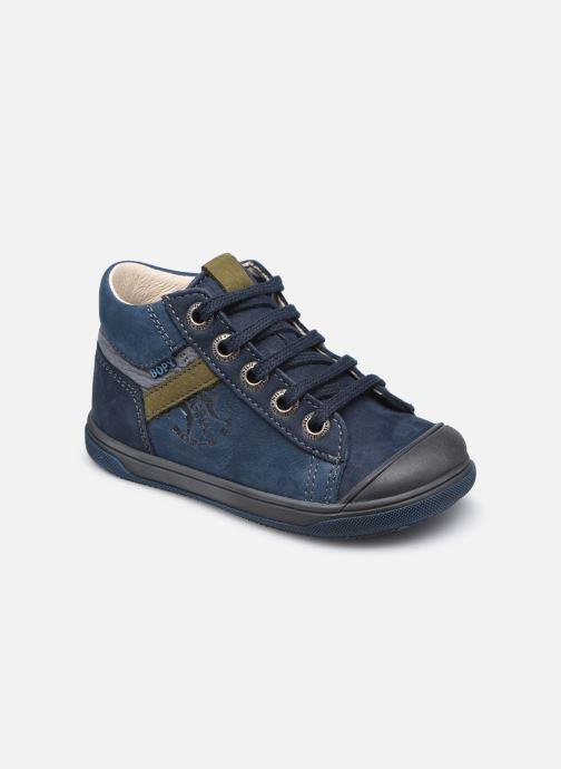 Bottines et boots Bopy Rino Bleu vue détail/paire