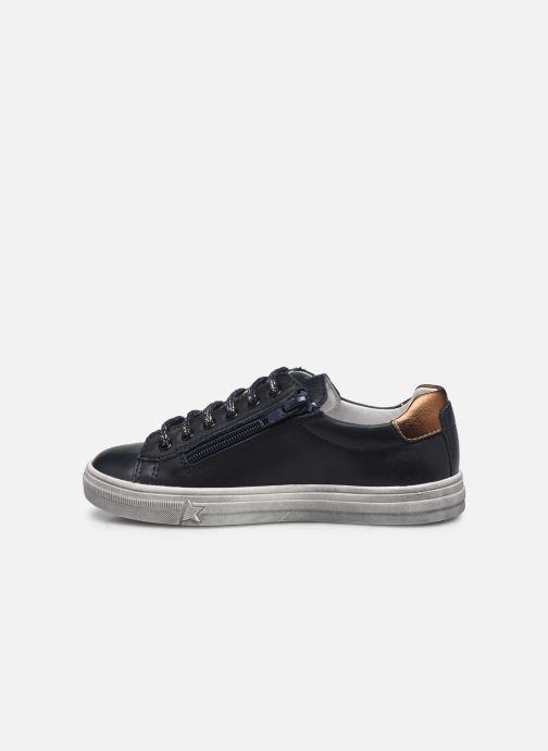 Sneaker Bopy Sobeau blau ansicht von vorne