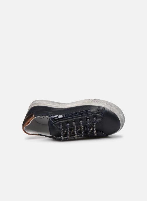 Sneaker Bopy Sobeau blau ansicht von links
