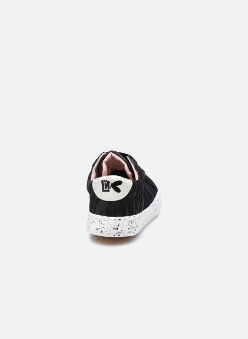 Sneaker Bopy Giona Lilybellule schwarz ansicht von rechts
