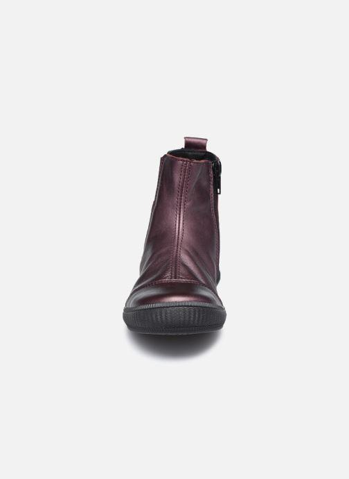 Bottines et boots Bopy Siroker Bordeaux vue portées chaussures