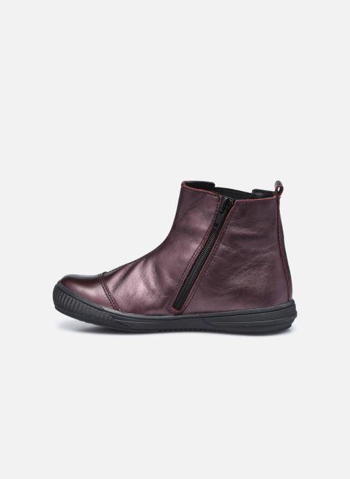 Bottines et boots Bopy Siroker Bordeaux vue face