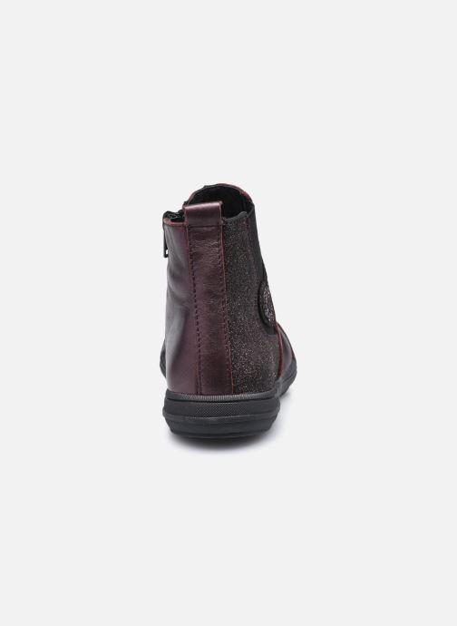 Bottines et boots Bopy Siroker Bordeaux vue droite