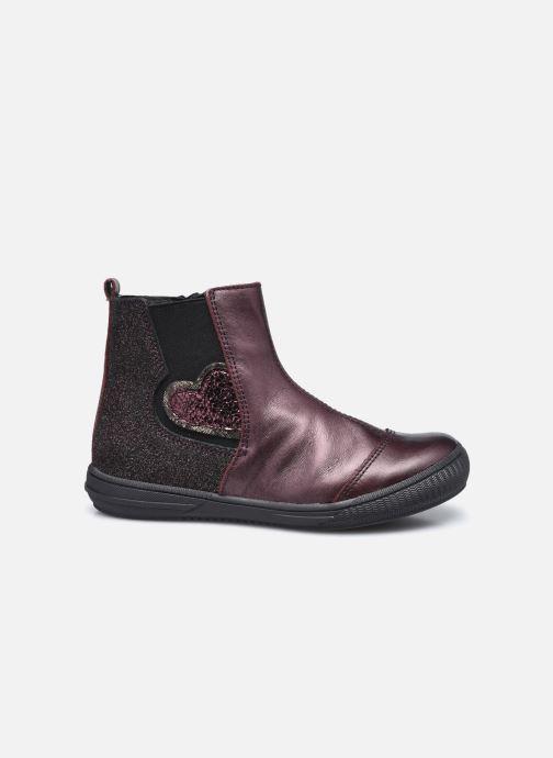 Bottines et boots Bopy Siroker Bordeaux vue derrière