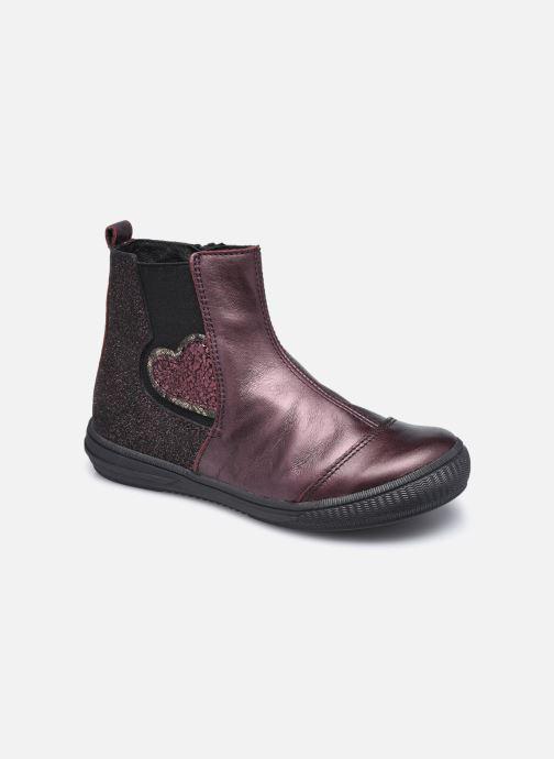 Bottines et boots Bopy Siroker Bordeaux vue détail/paire