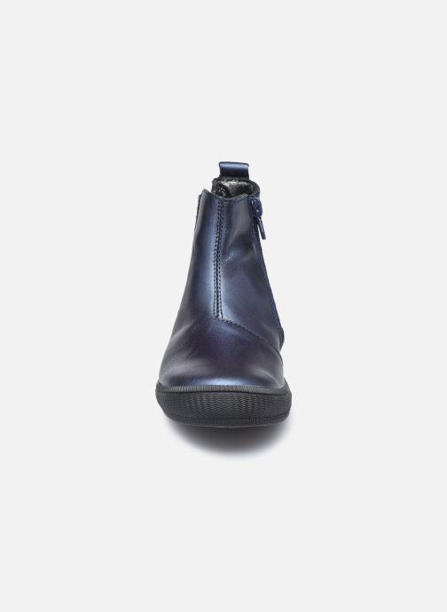 Bottines et boots Bopy Samalo Bleu vue portées chaussures