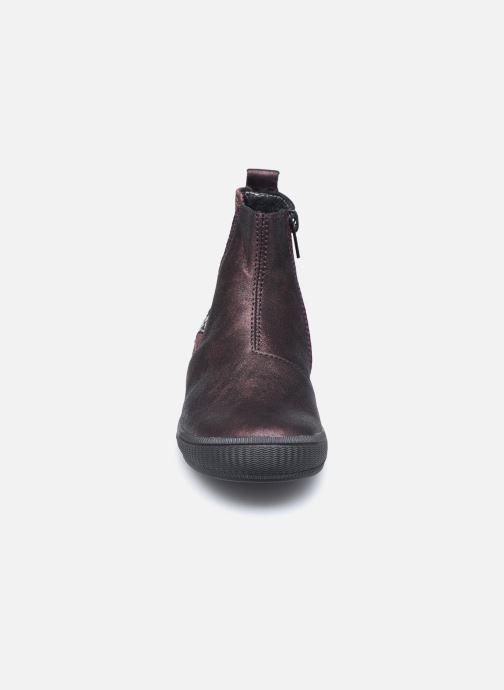 Bottines et boots Bopy Samalo Bordeaux vue portées chaussures