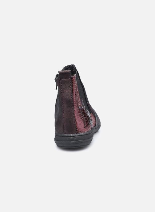 Bottines et boots Bopy Samalo Bordeaux vue droite
