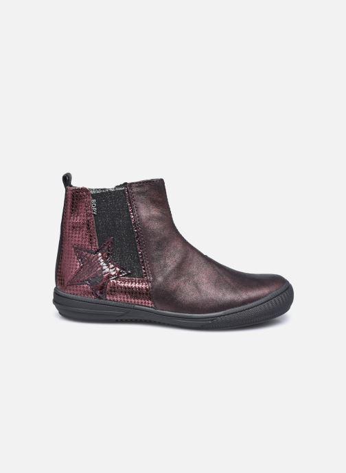 Stiefeletten & Boots Bopy Samalo weinrot ansicht von hinten