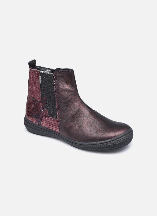 Bottines et boots Bopy Samalo Bordeaux vue détail/paire