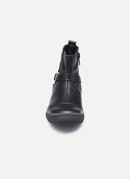 Botines  Bopy Sirofla Negro vista del modelo