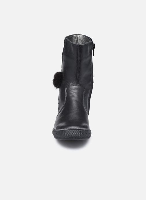 Bottes Bopy Surielle Noir vue portées chaussures