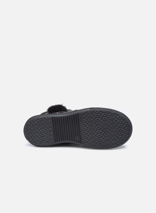 Stiefel Bopy Surielle schwarz ansicht von oben