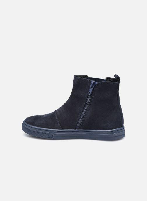 Bottines et boots Bopy Servane Bleu vue face