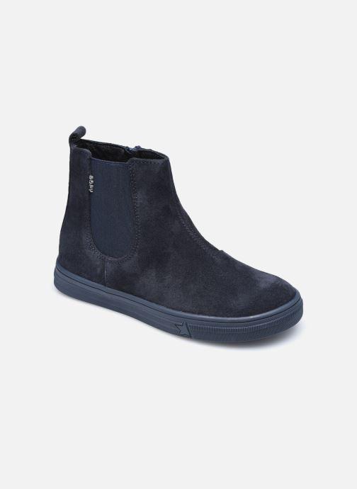 Bottines et boots Bopy Servane Bleu vue détail/paire