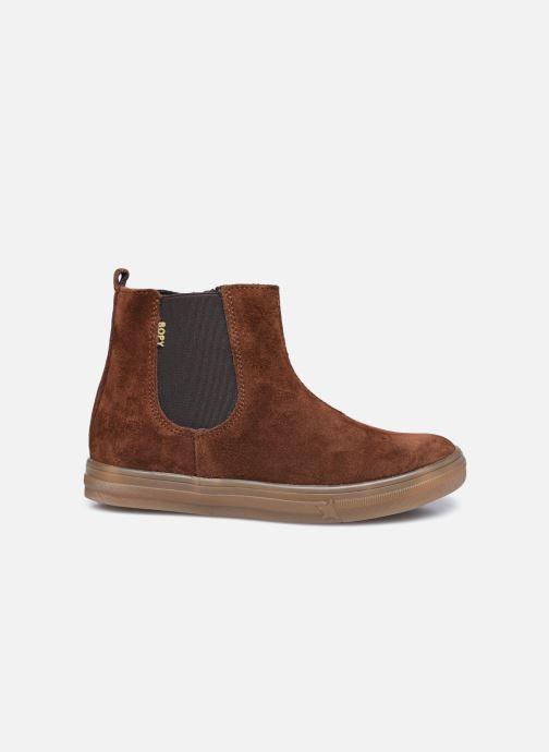 Stiefeletten & Boots Bopy Servane braun ansicht von hinten