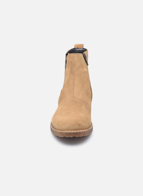 Bottines et boots Bopy Sultane Marron vue portées chaussures