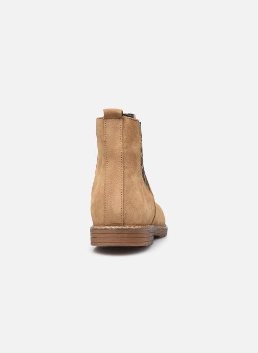 Bottines et boots Bopy Sultane Marron vue droite