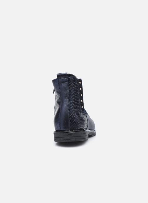 Boots en enkellaarsjes Bopy Souzi Blauw rechts