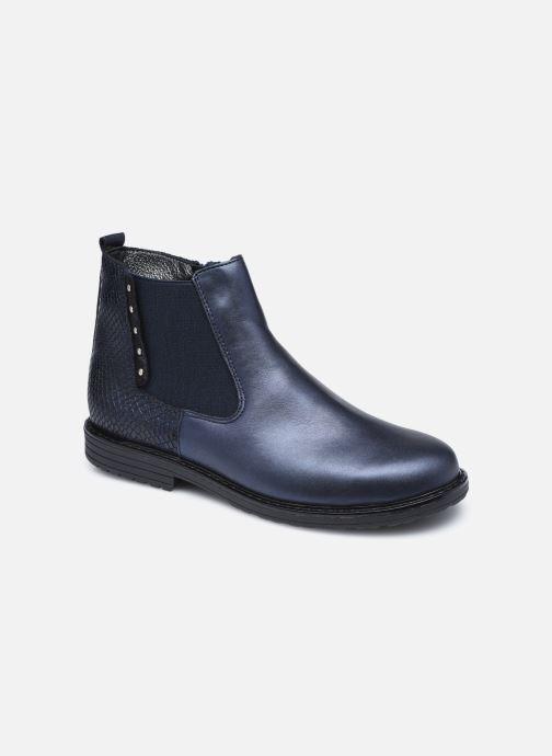 Boots en enkellaarsjes Bopy Souzi Blauw detail