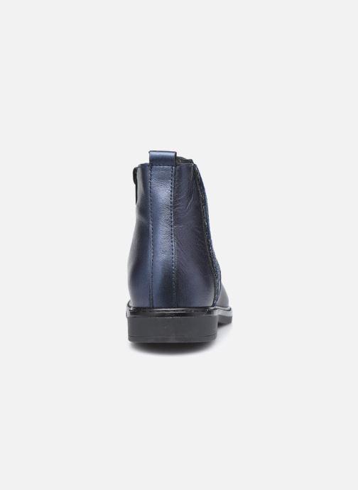 Bottines et boots Bopy Sagali Bleu vue droite