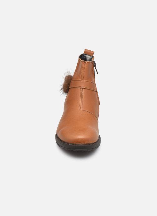 Bottines et boots Bopy Stanala Marron vue portées chaussures