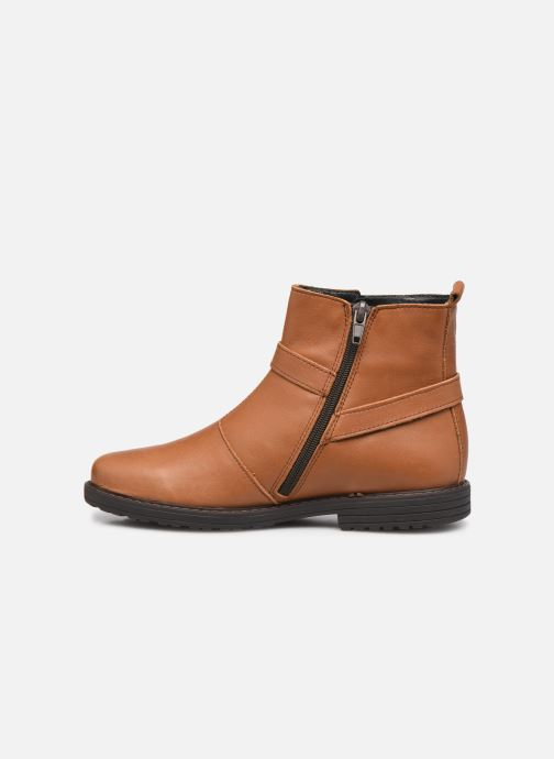 Bottines et boots Bopy Stanala Marron vue face