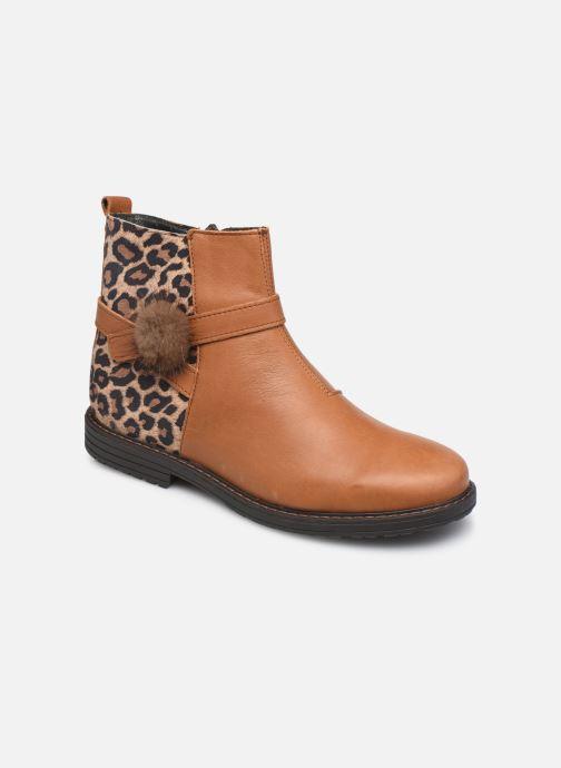Bottines et boots Bopy Stanala Marron vue détail/paire