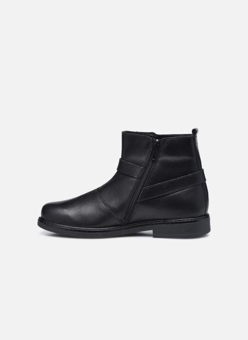 Bottines et boots Bopy Stanala Noir vue face